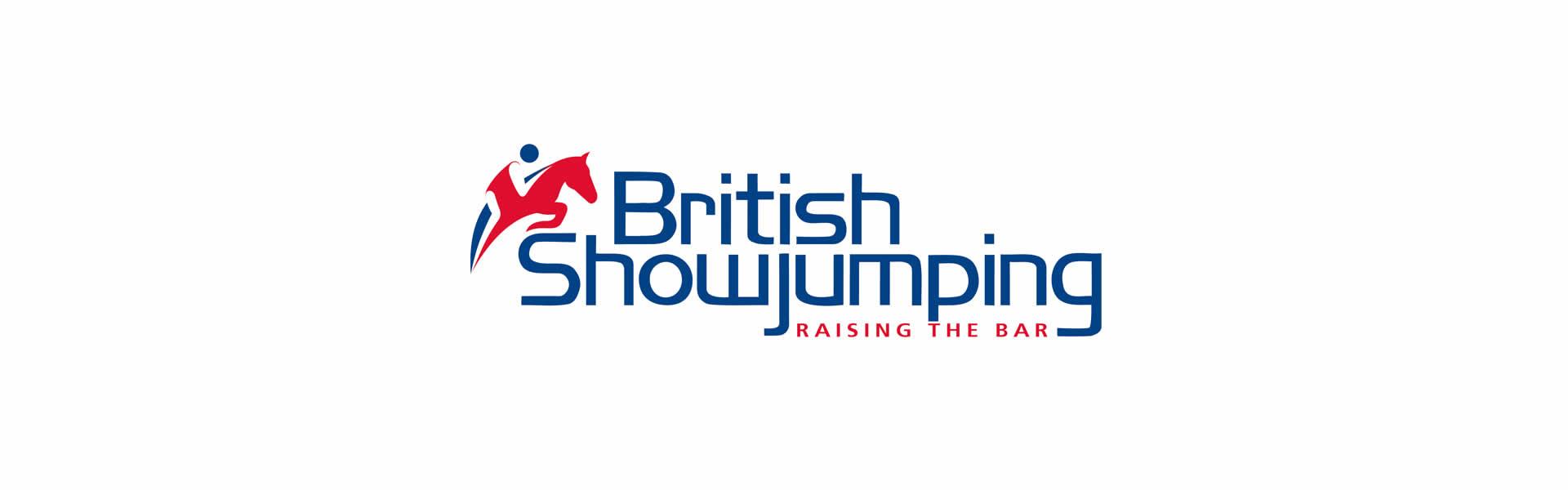 British Showjumping logo
